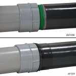 """Perma-Cote PVC-coated conduit's new """"PVC Coated Sealing Locknut"""" properly protects conduit systems against water, oils, and other liquids"""